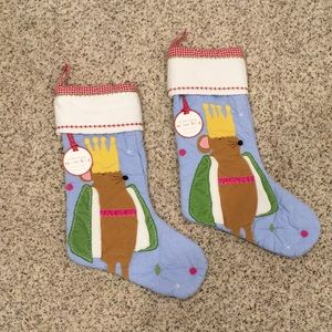 Mouse king Pottery Barn Kids Stockings
